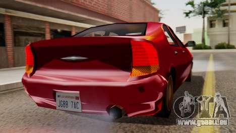 GTA 3 Kuruma SA Style pour GTA San Andreas laissé vue
