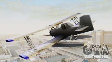 Ein cropduster-dem Wasserflugzeug v1.0 für GTA San Andreas linke Ansicht