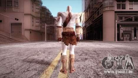 God Of War 3 Kratos pour GTA San Andreas deuxième écran