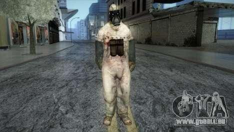 Order Soldier from Silent Hill pour GTA San Andreas deuxième écran