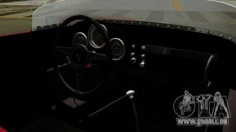Porsche 550A Spyder 1956 pour GTA San Andreas vue de droite