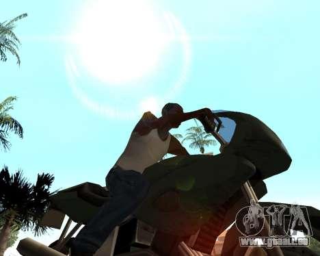 Le soleil de GTA 5 Final pour GTA San Andreas troisième écran
