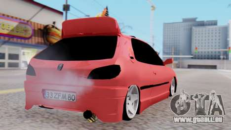 Peugeot 306 GTI für GTA San Andreas linke Ansicht