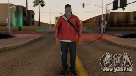 [BF Hardline] Gang Professional pour GTA San Andreas deuxième écran