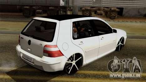 Volkswagen Golf 2004 Edit für GTA San Andreas Seitenansicht