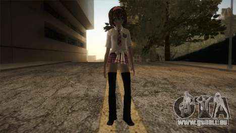 Rasta School Girl für GTA San Andreas zweiten Screenshot