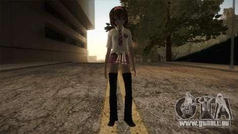 Rasta School Girl für GTA San Andreas zweiten Screenshot