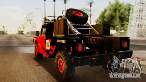 Hummer H1 1993 Baja Edition für GTA San Andreas linke Ansicht