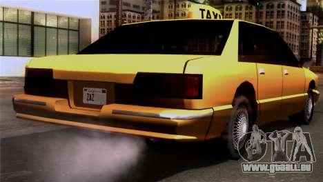 Taxi Kuruma 0.9 für GTA San Andreas linke Ansicht
