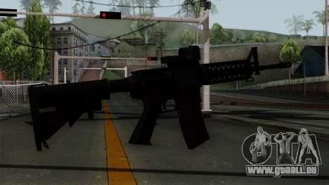 AR-15 Elcan pour GTA San Andreas deuxième écran