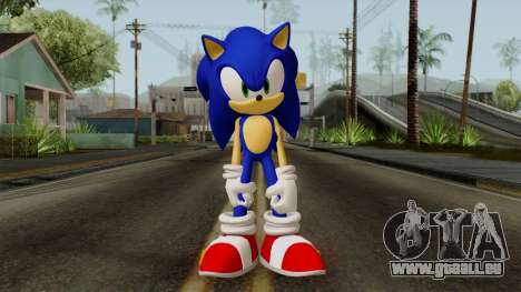 Sonic the Hedgehog HD für GTA San Andreas zweiten Screenshot