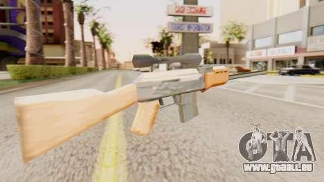 Zastava M76 pour GTA San Andreas deuxième écran