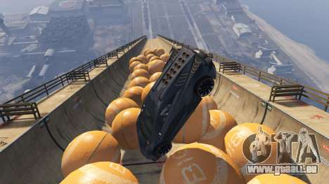 GTA 5 Race the balls v1.2 quatrième capture d'écran