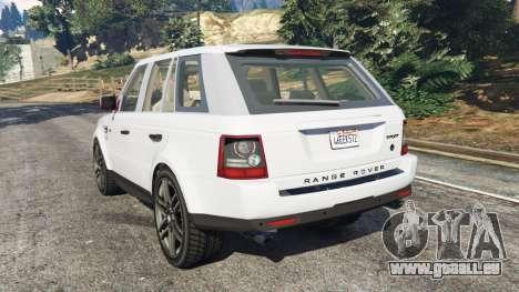 GTA 5 Range Rover Sport 2010 v0.7 [Beta] arrière vue latérale gauche