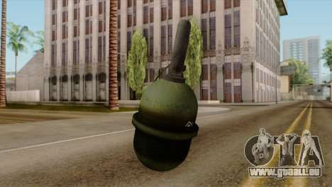 Original HD Grenade für GTA San Andreas zweiten Screenshot