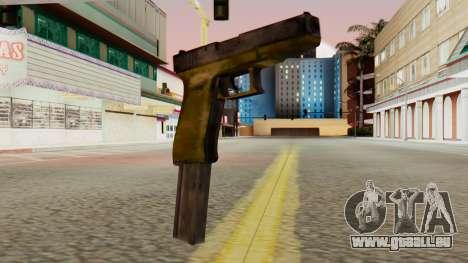 Glock 17 SA Style für GTA San Andreas
