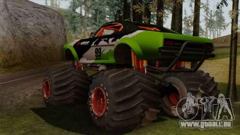 GTA 5 Vapid Big Foot pour GTA San Andreas laissé vue
