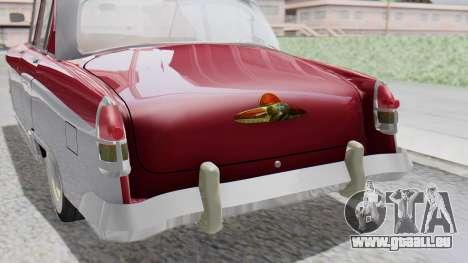 GAZ 21 Volga v2 pour GTA San Andreas vue arrière