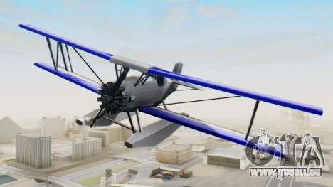 Ein cropduster-dem Wasserflugzeug v1.0 für GTA San Andreas rechten Ansicht