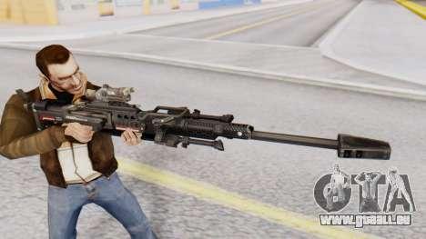 Sniper Rifle 8x Scope pour GTA San Andreas troisième écran