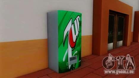 Soude 7UP pour GTA San Andreas deuxième écran