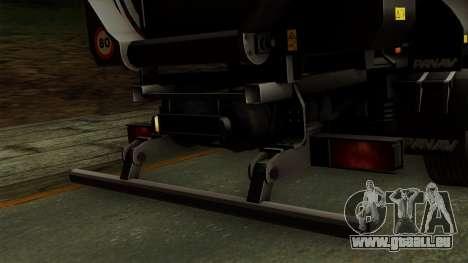 Panav Trailer pour GTA San Andreas vue de droite