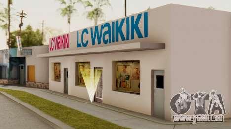 LC Waikiki Shop pour GTA San Andreas