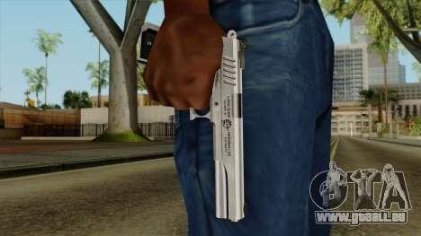 Original HD Colt 45 pour GTA San Andreas troisième écran