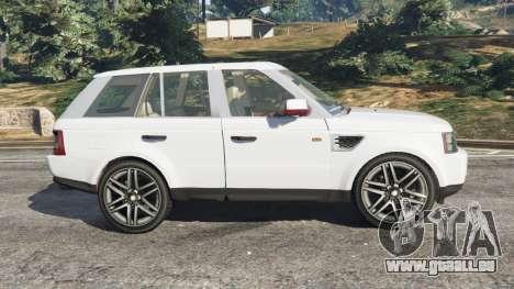 GTA 5 Range Rover Sport 2010 v0.7 [Beta] vue latérale gauche