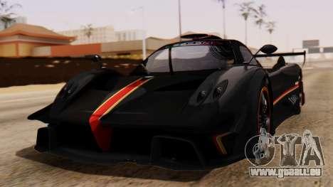 Pagani Zonda Revolucion 2015 für GTA San Andreas