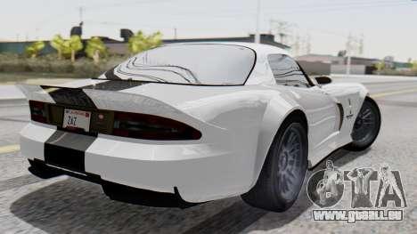 GTA 5 Banshee pour GTA San Andreas laissé vue