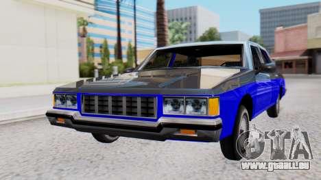 Chevrolet Caprice 1980 SA Style Civil pour GTA San Andreas