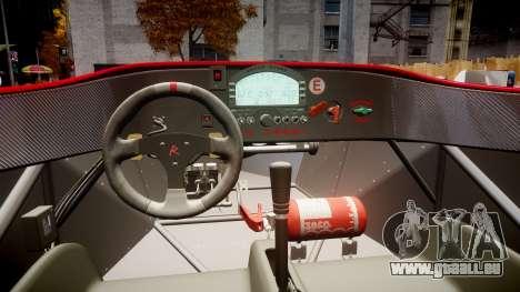 Radical SR8 RX 2011 [27] für GTA 4 Rückansicht