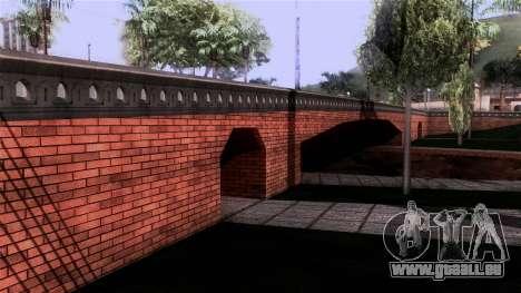 New Glen Park pour GTA San Andreas deuxième écran