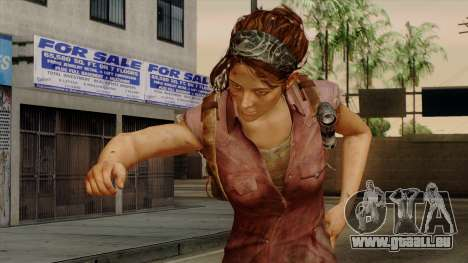 Tess from The Last of Us pour GTA San Andreas