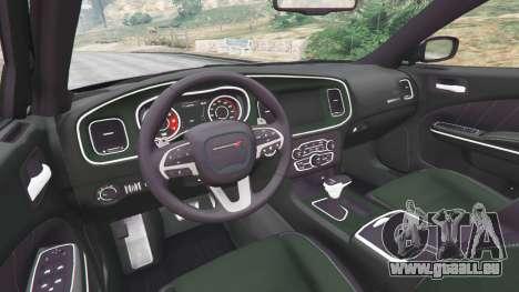 GTA 5 Dodge Charger RT 2015 v1.1 droite vue latérale