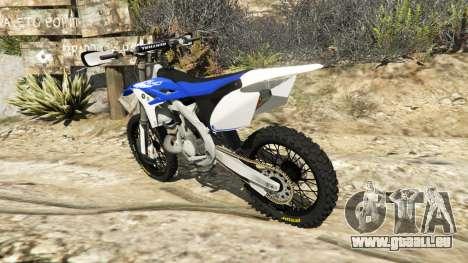 Yamaha YZ 250 v0.1 pour GTA 5