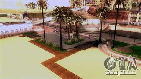La plage de Los Santos pour GTA San Andreas troisième écran