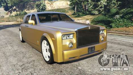 Rolls-Royce Phantom EWB v0.6 [Beta] pour GTA 5