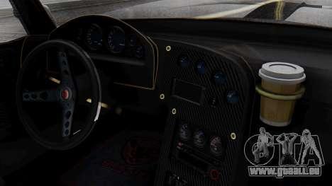 GTA 5 Banshee für GTA San Andreas Rückansicht