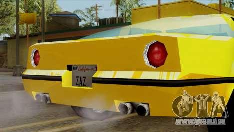 Banshee from Vice City Stories für GTA San Andreas rechten Ansicht