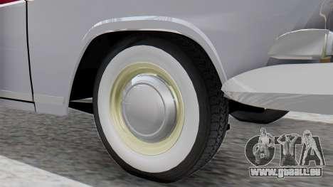 GAZ 21 Volga v2 pour GTA San Andreas sur la vue arrière gauche