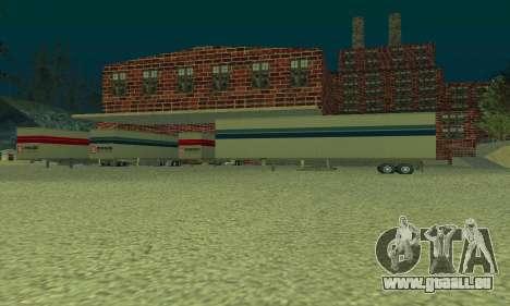 La compagnie pétrolière LUKOIL pour GTA San Andreas troisième écran