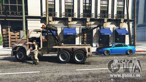 GTA 5 Rufen Sie einen Abschleppwagen v1.3 zweite Screenshot