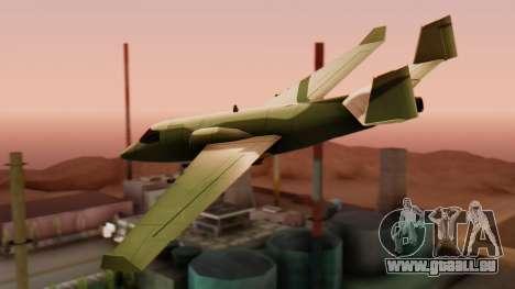 Le Stormtrooper. pour GTA San Andreas laissé vue