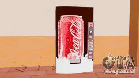 Le Coca-Cola Machine pour GTA San Andreas troisième écran