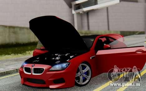 BMW M6 2013 v1.0 pour GTA San Andreas salon