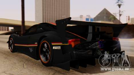 Pagani Zonda Revolucion 2015 für GTA San Andreas linke Ansicht