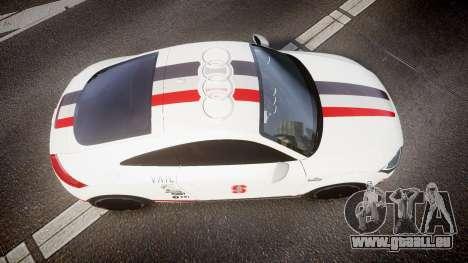 Audi TT RS 2010 Shelley pour GTA 4 est un droit