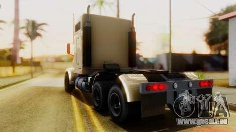 GTA 5 MTL Packer Trainer IVF pour GTA San Andreas laissé vue